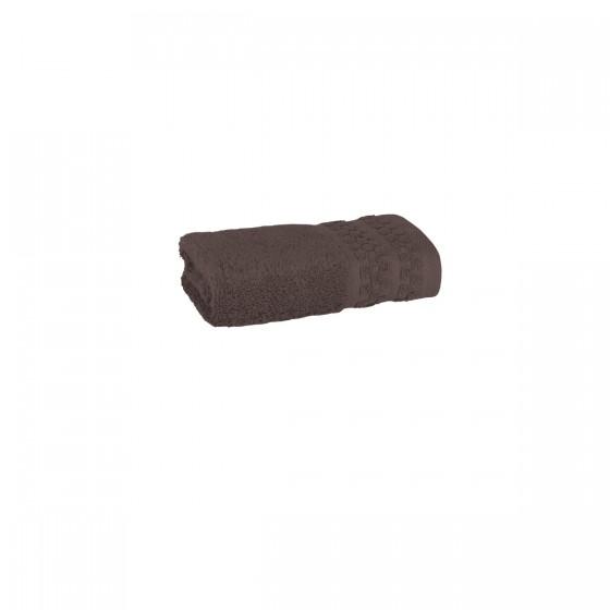 Хавлиена кърпа в кафяво, с бамбукови влакна и памук Бамбук, размер 30х50 см