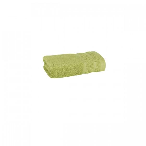 Хавлиена кърпа в зелено, с бамбукови влакна и памук Бамбук, размер 30х50 см