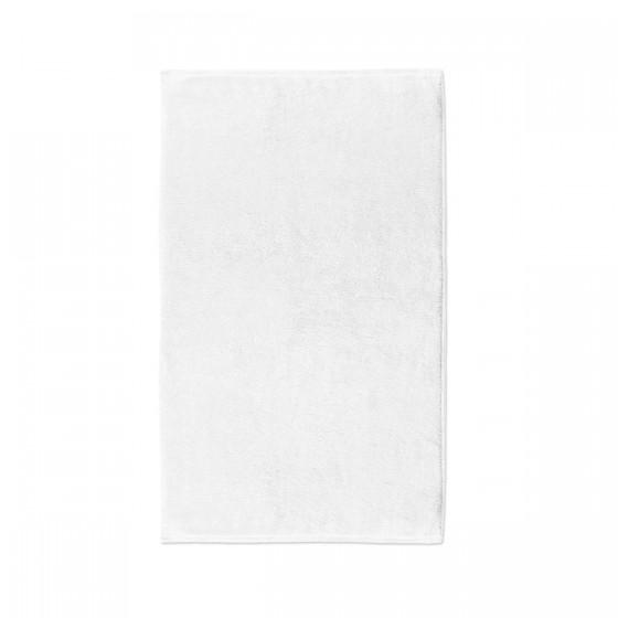 Бяла хавлиена кърпа за баня HOTEL LUX, размер 50/90 см, 100% памук