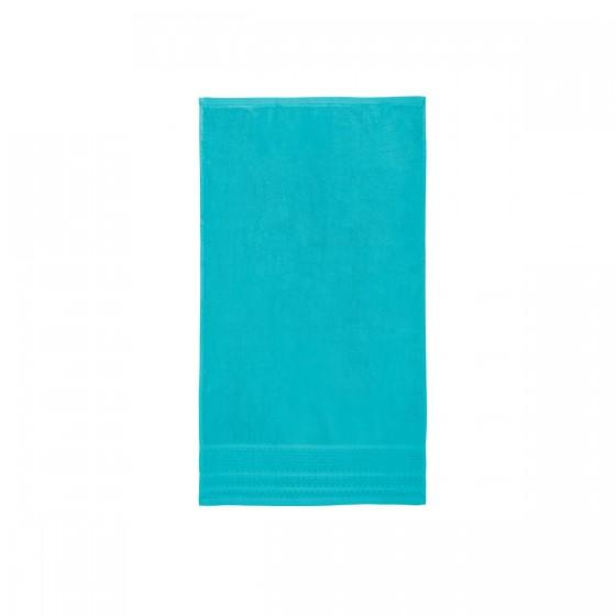 Тюркоазен цвят хавлиена кърпа с бамбукови влакна ЛЕТЕН БАМБУК, размер 50х90 см