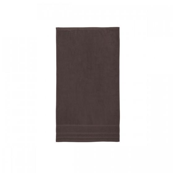 Хавлиена кърпа в кафяво, с бамбукови влакна и памук Бамбук, размер 50х90 см