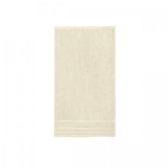 Хавлиена кърпа в екрю, с бамбукови влакна и памук Бамбук, размер 50х90 см