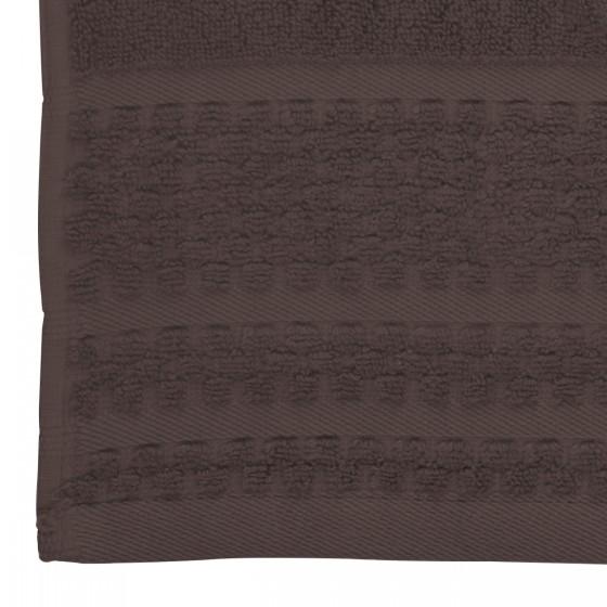 Хавлиена кърпа в кафяво, с бамбукови влакна и памук Бамбук, размер 70х140 см