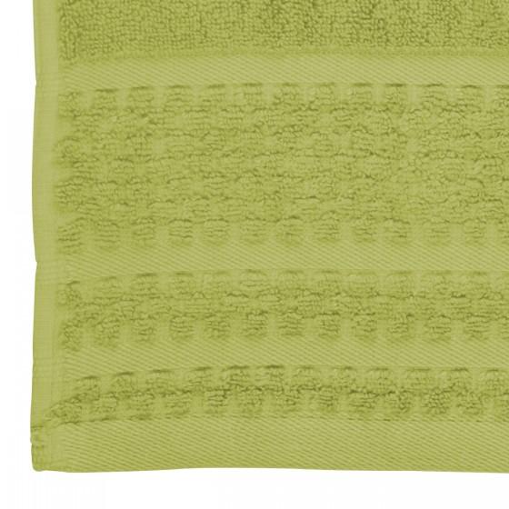 Хавлиена кърпа в зелено, с бамбукови влакна и памук Бамбук, размер 70х140 см