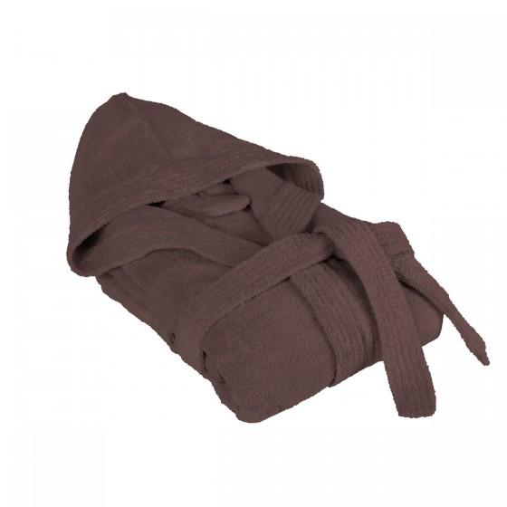 Халат за баня с бамбукови нишки в кафяво БАМБУК, размер L/XL