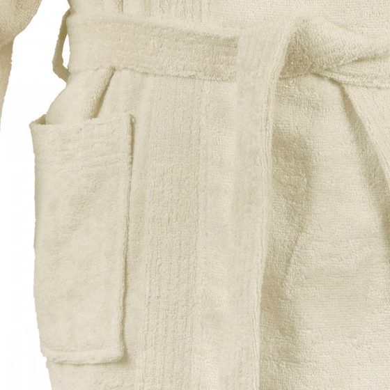 Халат за баня с бамбукови нишки в екрю БАМБУК, размер L/XL