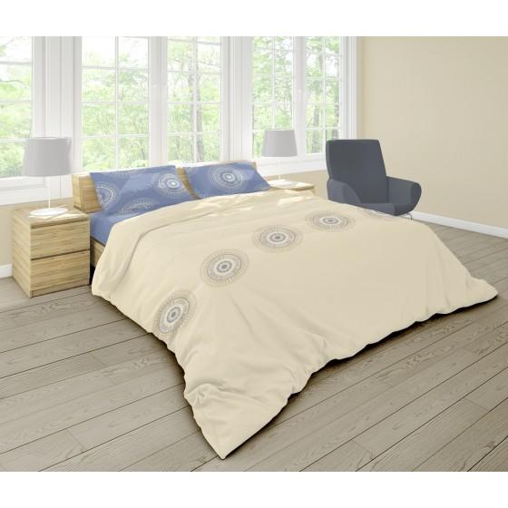 Спално бельо 100% Памук Ранфорс КАЗА, за единично легло