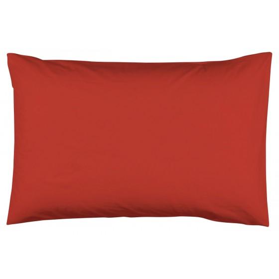 Едноцветна Калъфка за Възглавница - Ярко Червено 50/70, 100% Памук Ранфорс
