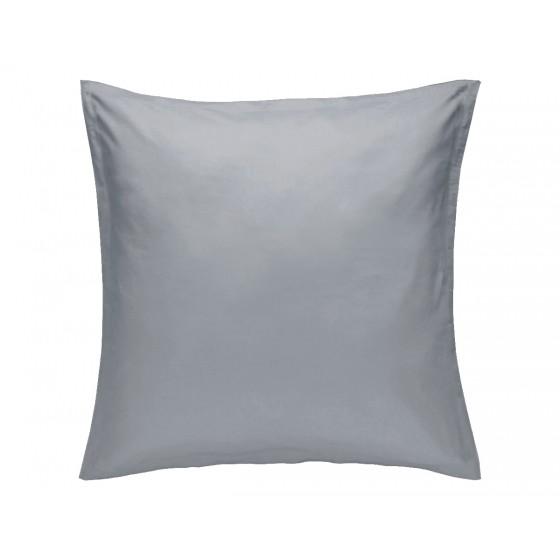 Едноцветна Калъфка за възглавница Сиво 80/80, 100% Памук Ранфорс