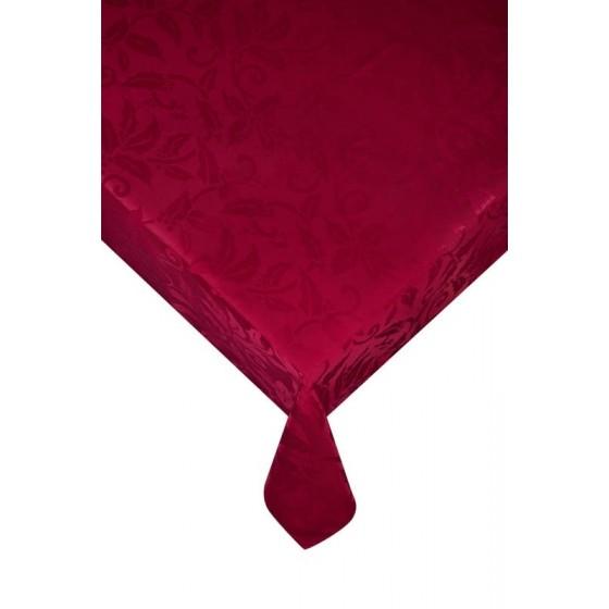 Червена покривка за маса Гала, размер 150х220 см