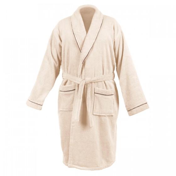 Мек халат за баня в екрю ХАВАНА, размер L/XL