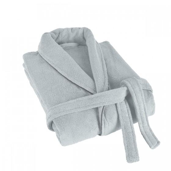 Мек халат за баня в сиво ХАВАНА, размер S/M