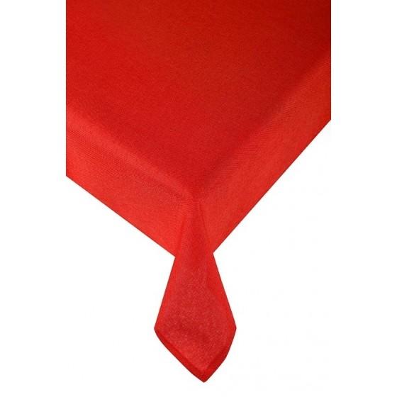Червена покривка за маса Карина, Размер 100х150 см