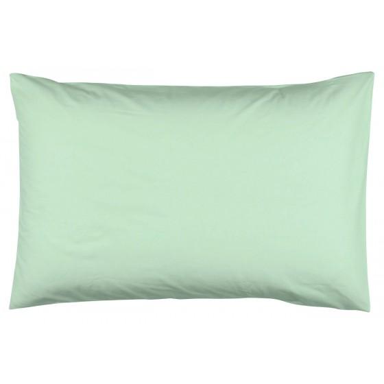 Едноцветна Калъфка за възглавница в Цвят Мента - 50/70 см.,100% Памук Ранфорс