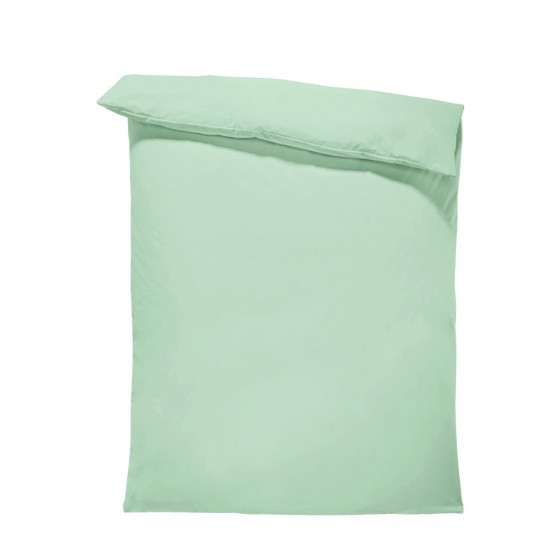 Едноцветен спален плик в цвят мента, материя ранфорс, размер 200/215 см