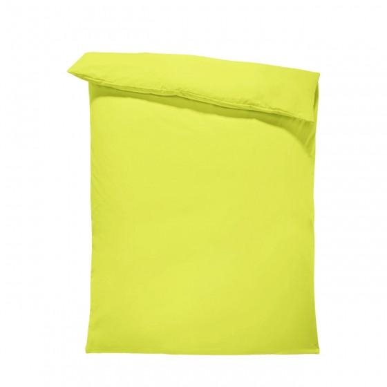 Едноцветен спален плик в зелено, материя ранфорс, размер 200/215 см.
