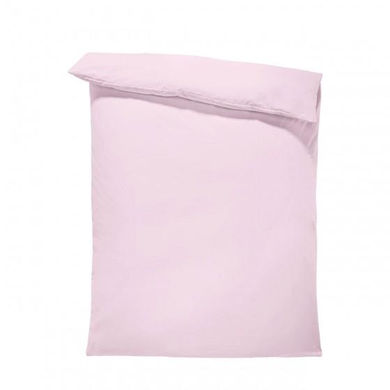 Едноцветен спален плик в светло лилаво, материя ранфорс, размер 150/215 см.