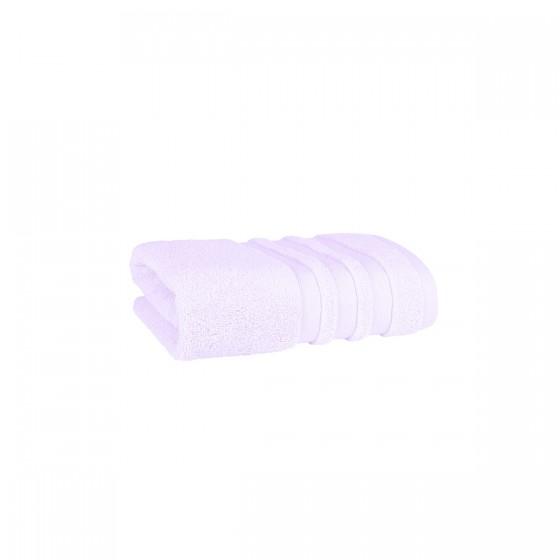 Красива кърпа за баня в светло лилаво ПАСТЕЛ, размер 30/50 см, 100% микропамук
