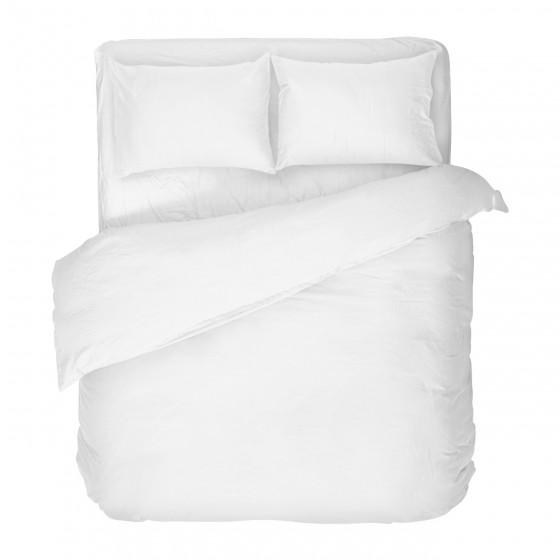 Спално Бельо Памук Бяло, за Спалня, Двоен Размер