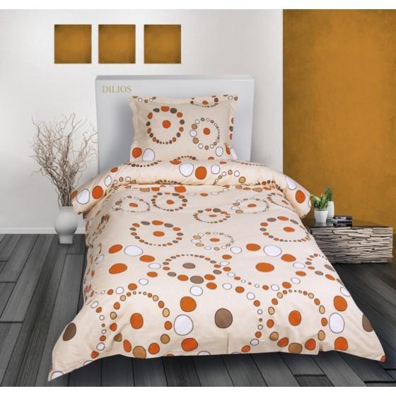 Спално Бельо Ранфорс на Цветни Кръгчета - Тели 2, Единичен размер
