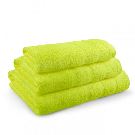 Комплект от 3 Броя Зелени Хавлиени Кърпи - Перла, в Три Размера, 400 г/м2