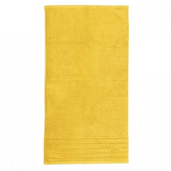 Хавлиена кърпа в жълт цвят - СИДНИ, размер 70/140 см