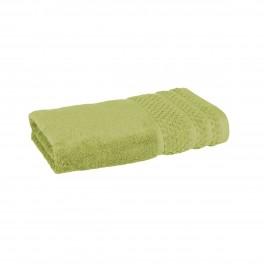 Хавлиена кърпа в зелено, с бамбукови влакна и памук Бамбук, размер 50х90 см