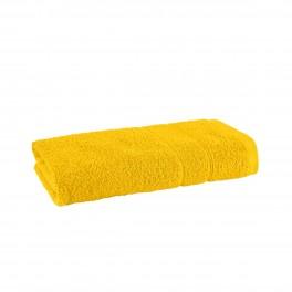 Хавлиена кърпа за баня в жълто Наполи, размер 50х90 см, 100% памук