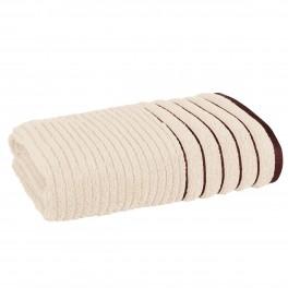Плътна хавлиена кърпа за баня в екрю ХАВАНА, размер 70х140 см
