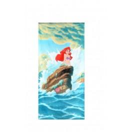 Детска плажна кърпа с високо качество, за момичета - АРИЕЛ, размер 70/140 см