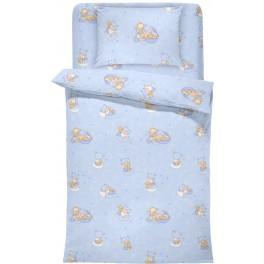 Бебешки Спален Комплект за Момченце - Бейби Блу , Памук и Полиестер, DILIOS