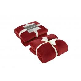Червено одеяло, с нежна кашмирена мекота Кашмир, 140/200 см