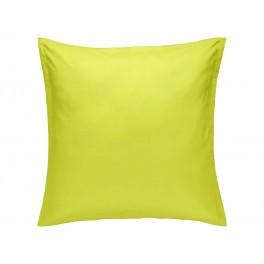 Едноцветна Калъфка за възглавница ЛАЙМ 80/80, 100% Памук Ранфорс