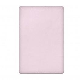 Едноцветен долен чаршаф в светло лилаво, размер 150/220 см, материя Ранфорс
