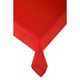 Червена покривка за маса Карина, Размер 145х180 см