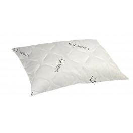 Мека Възглавница с Ленени Нишки, Хипоалергенна възглавница, Дишаща Материя, размер 50/70 см