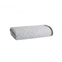 Качествена Кърпа за Баня с Двулицев Дизайн в Сиво - Матерхорн, 50/90 см.