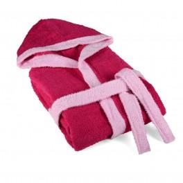 Халат за Баня за Тийнейджър, Розов Цвят, 12-14 години