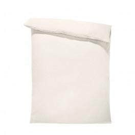 Едноцветен спален плик в светло екрю, материя ранфорс, размер 150/215 см.
