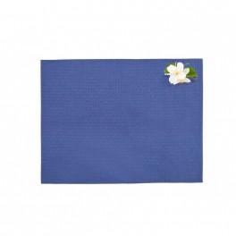 Синя подложка за хранене - ФЛОРА МАРИН, размер 35х45 см