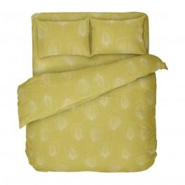 Жълто Спално Бельо Грейс 2, Двоен Спален Комплект