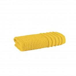 Хавлиена кърпа в жълт цвят - СИДНИ, размер 50/90 см
