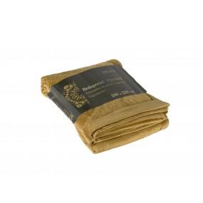 Красива златиста покривка за легло - ЗЛАТО, размер 200/220 см