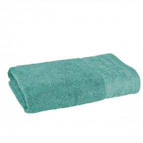 Качествена хавлиена кърпа в зелено - КАЗАБЛАНКА, размер 70/140 см